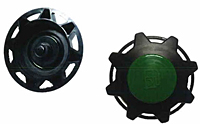 3.5 Inch (in) Threaded Fuel or Hydraulic Service Cap